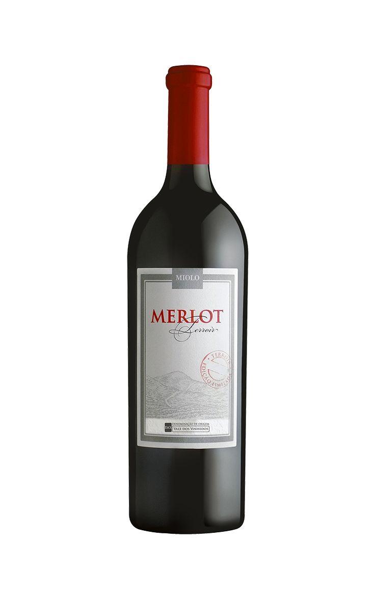 Vinho Miolo Merlot Terroir D.O. - Safra 2012 (750ml)