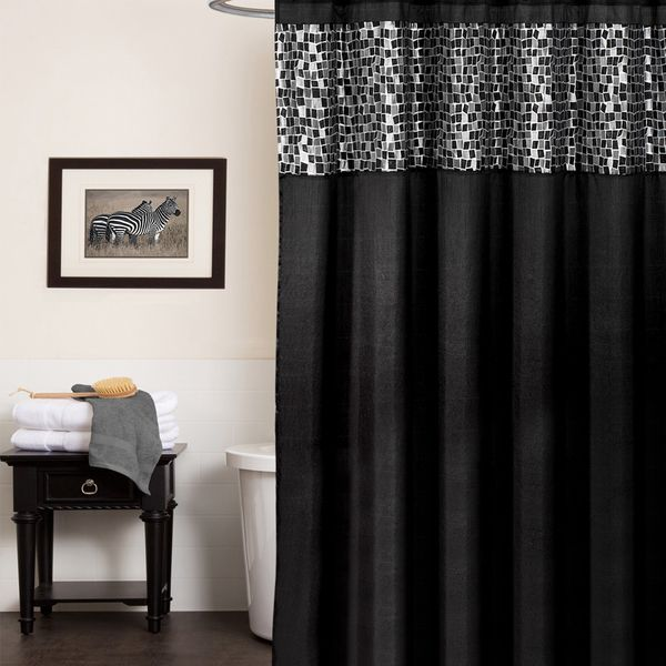 1000+ ideas about Black And Silver Curtains on Pinterest | Silver ...