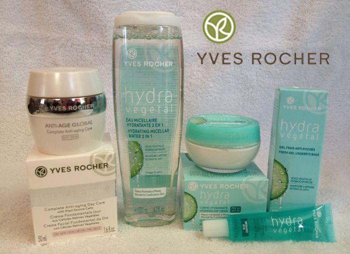Yves Rocher Hydra Vegetal Skin Care - I love the 2 in 1 face cleanser!