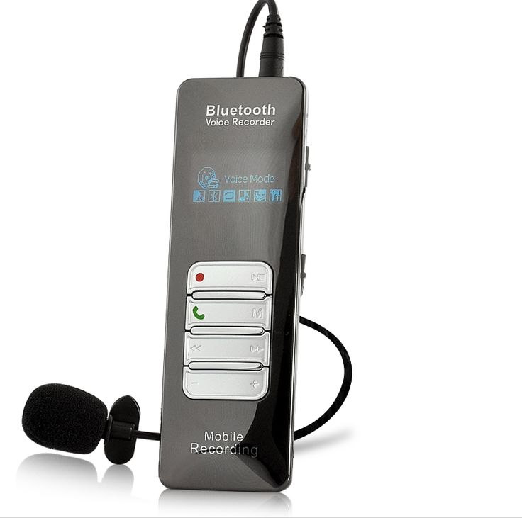 Image of Voice and Call Recorder for Mobile Phones - Bluetooth, 8GB