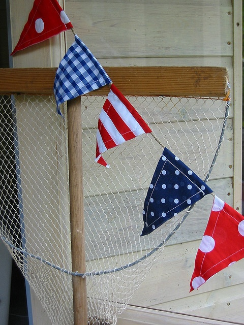 Red, White & Blue Nautical Flags