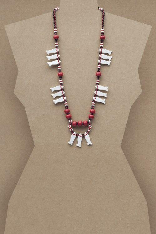 Marina Necklace #necklace #jewellery #jewelry #fashionaccessories #accessories #beadednecklace #ceramicbeads #ethnicstyle #bohostyle