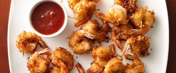 Double-dipping will be the norm for delicious shrimp and a saucy apricot dip.