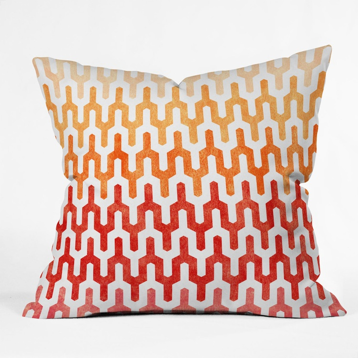 Arcturus Warm 1 Throw Pillow