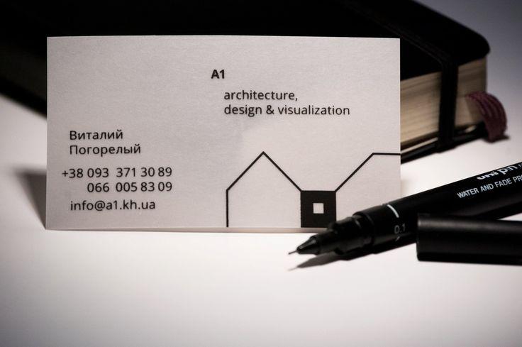 A1 Design business card