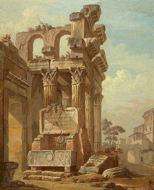 Ancient Ruins: Charles Louis Clerisseau