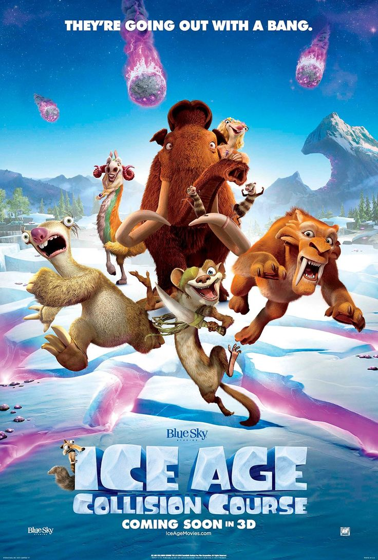 Movie Review: Ice Age 5  #collisioncourse #diego #manny #sid