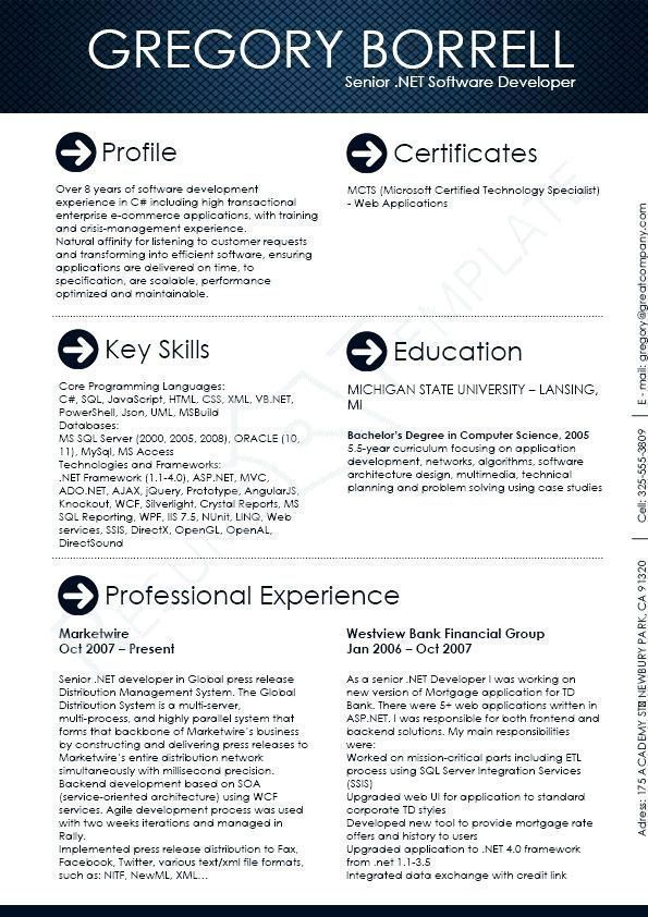 Software Engineer Resume Templates This Image Presents The Software Engineer Resume Template Do You Know How Writing Software Software Engineer Resume Software