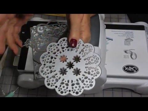 Como usar troqueles para Big shot con embossing. - YouTube