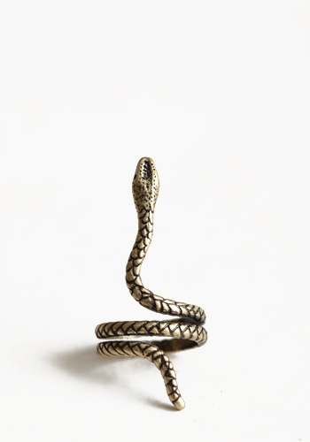 Amazonian Snake Ring in GoldGold Snakes, Fashion Styles, Snakes Jewelry, Jewelry Accessories, Gold Rings, Amazonian Snakes, Snakes Rings Foxes, Serpent Rings, Accessorizing
