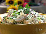 Picture of The Lady's Warm Potato Salad Recipe