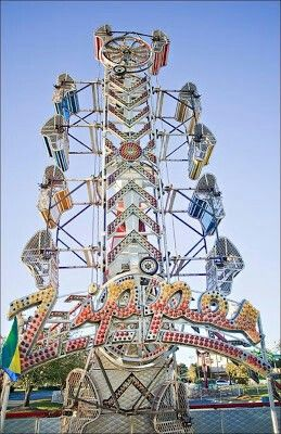 The Zipper is just one of the many festive rides available at the Geren Rides carnival located next to Buffalo Wild Wings in the parking lot of Valdosta Mall.