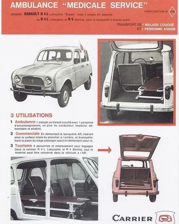 Renault 4 Ambulance