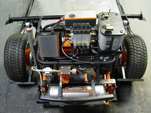 Can Electric Cars Have A Mid Engine Power Source