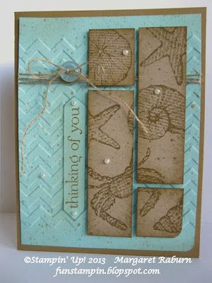 Fun Stampin' with Margaret!: By the Seashore CCMC263
