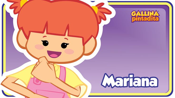 Mariana - Gallina Pintadita 1 - Oficial - Canciones infantiles para niño...