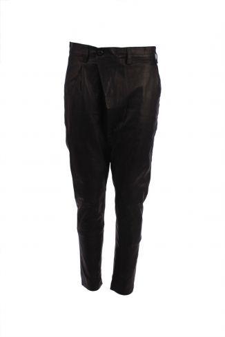 Skinny Leg - Sinner Leather Pants- Black - Maud Dainty