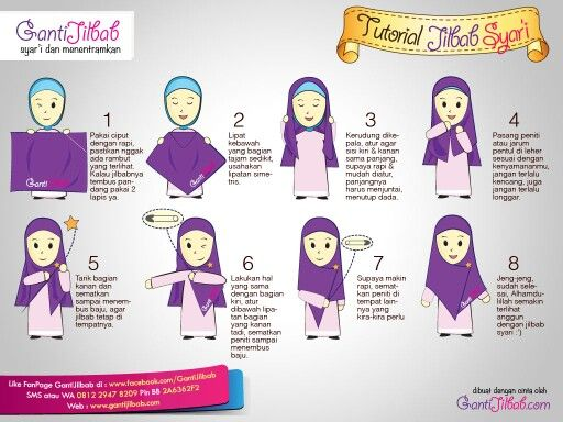 Mohajabbah muslimah hijab anime khimar true hijab