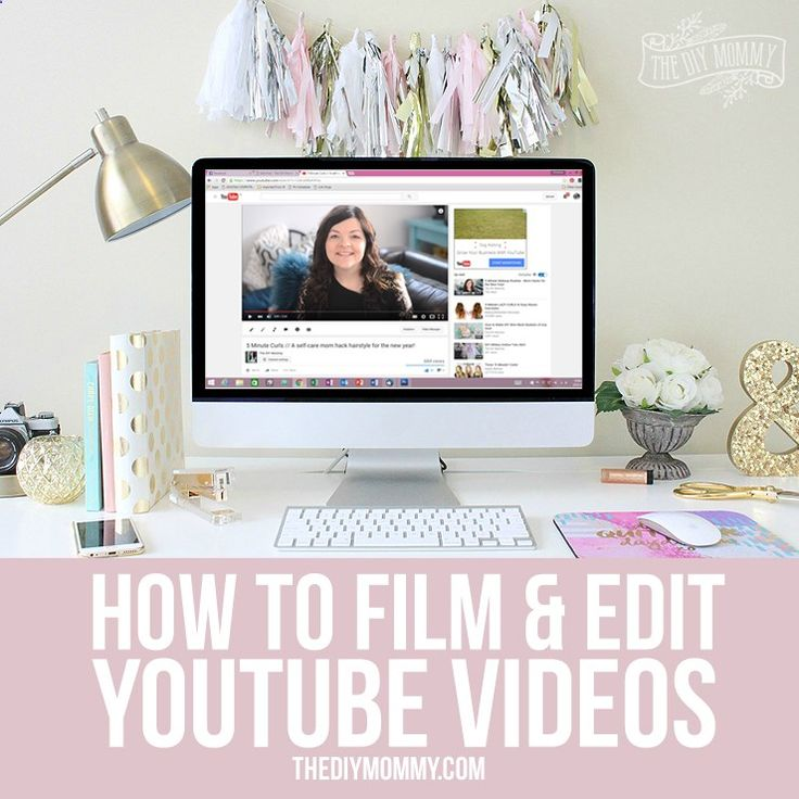 How to Film  Edit YouTube Videos - secret tips and tricks for home decor, DIY and lifestyle bloggers!