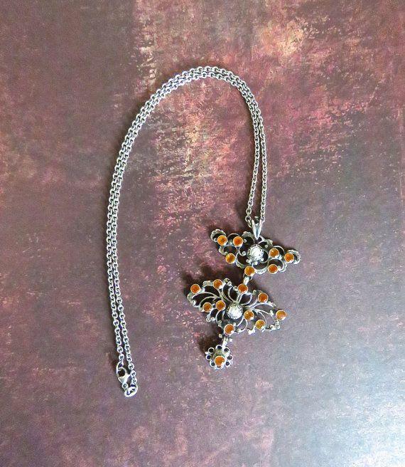 Antique Austro-Hungarian Necklace  c. 1800s by DuncanGrantAntiques
