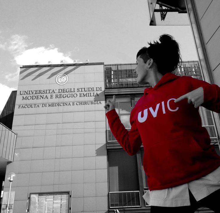 Mònica Plans Diaz-Meco, estudiant d'Infermeria ha participat en un programa Erasmus a Itàlia i presenta aquesta fotografia al concurs La UVic al Món juntament amb la frase: 'Piano piano si va crescendo' #CampusInternacional #UVic #uviclife #LaUVicAlMón #italia #infermeria