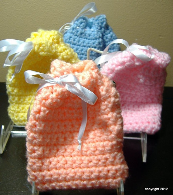 Free Crochet Pattern For Gift Bags : 73 best images about CROCHET GIFT BAGS on Pinterest Free ...