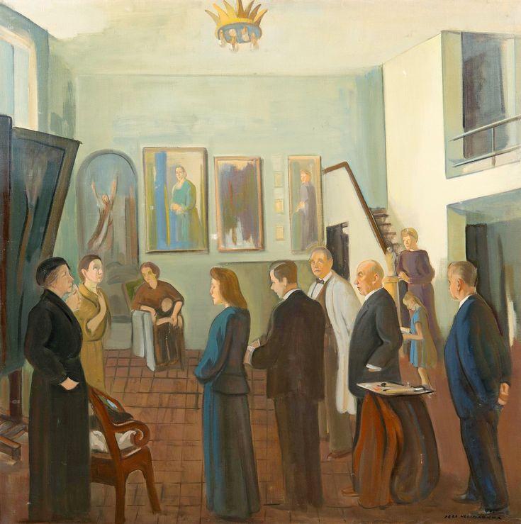 Eero Nelimarkka (October 10, 1891, Vaasa - January 27, 1977, Helsinki, Finland)