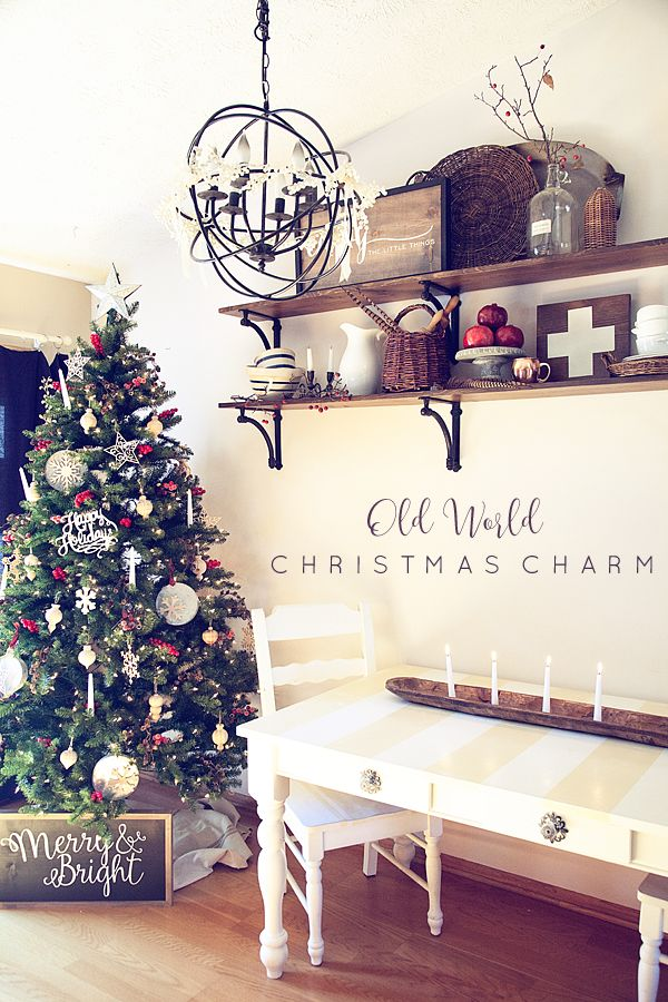 Old-World-Christmas-Charm-Tree-from-WhipperBerry  Michaels Dream Trees 2015