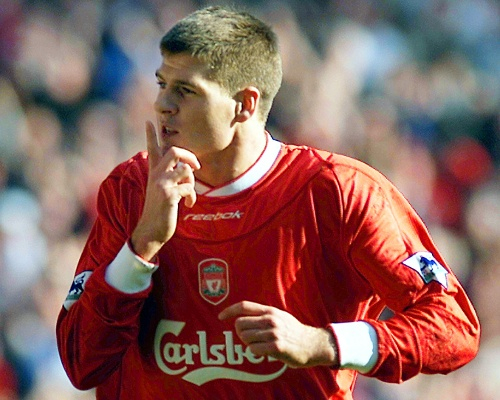 No.2: STEVEN GERRARD (405 appearances)