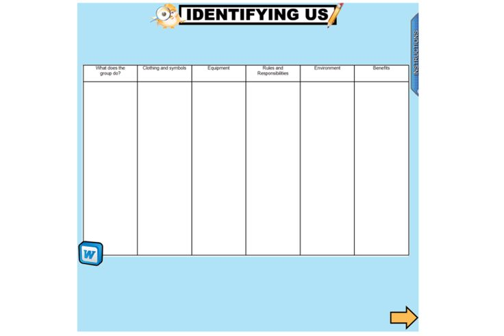 This unit provides opportunities for students to explore the groups to which they and others belong, and the benefits of belonging to a group. The unit focuses on the diverse activities and practices of these groups and the associated clothing, equipment, symbols and rules. http://schools.interactivelessons.com.au/ http://interactivelessons.com.au/