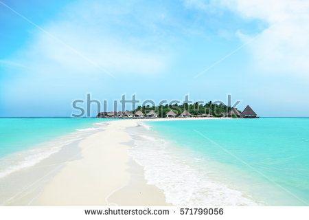 beautiful exotic tropical island
