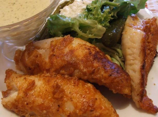 Perch Fillets from Food.com: This is the ONLY way to cook Perch caught fresh in Northern Canadian waters.