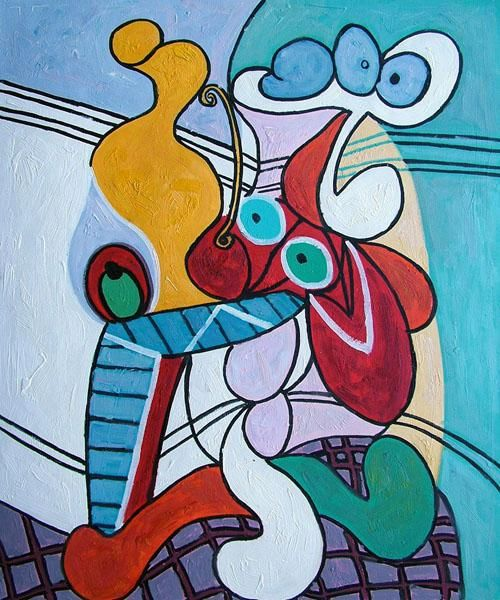 picasso paintings | Art Reproduction Oil Painting - Picasso Paintings: Still Life on ...