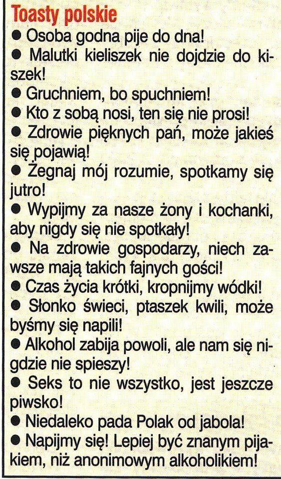 Toasty polskie.