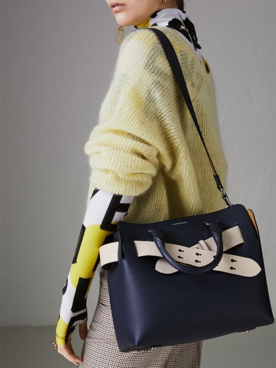 2ed3c1b7c106 The Small Belt Bag - A belted tote by  Burberrry influenced by our iconic  trench