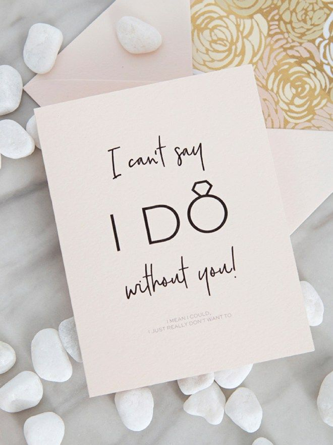 image about I Can't Say I Do Without You Free Printable referred to as 30+ Free of charge Printable \