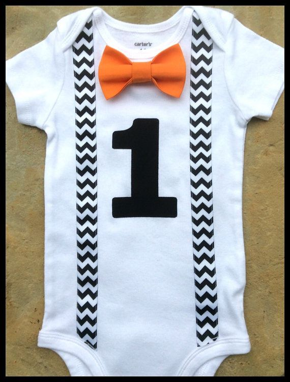 Baby Boy Clothes Halloween Fall Boys First Birthday by SewBoyBaby