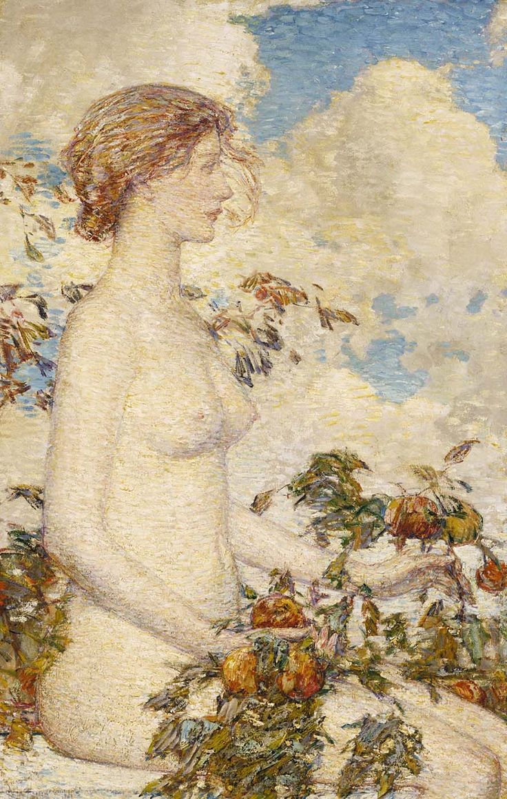 Details about hassam garden painting ceramic bathroom tile murals 2 - 345 Best American Impressionism Images On Pinterest American Impressionism Paintings And Art Paintings