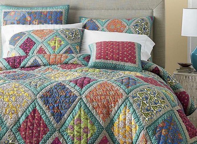 Reversible Bohemian Vibrant Fl Print 3 Piece Bed In A Bag Pinterest