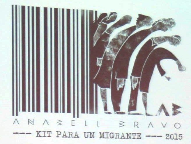 Anabell Bravo  Kit para un migrante–  EASD de Valencia. 2015
