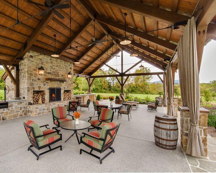 Best 25 Backyard Pavilion Ideas On Pinterest