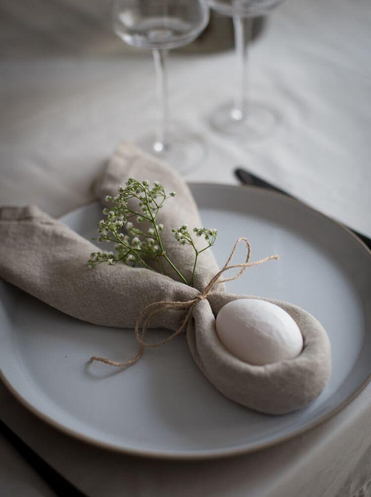10 jolies idées de décoration de Pâques