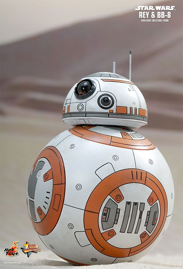 Action Figures Perfeitas Hot Toys Star Wars VII: Rey e BB-8 « Blog de Brinquedo