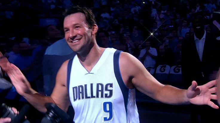 Romo addresses fans after draining jumpers - ESPN Video
