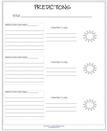 Printables Making Predictions Worksheets 3rd Grade 1000 images about predicting on pinterest graphic organizers id like you to make your prediction for the next section not end of story sound familiar free worksheet t