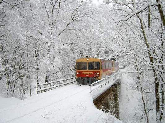 Hungary Bakony Rail
