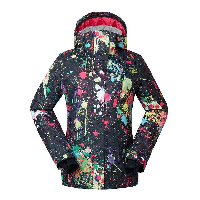 New winter brand ski jacket women ski suit female outdoor snow suit ladies snowboard jacket