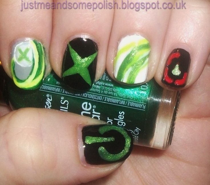 80 best Gamer nail art images on Pinterest | Make up, Nailart and ...