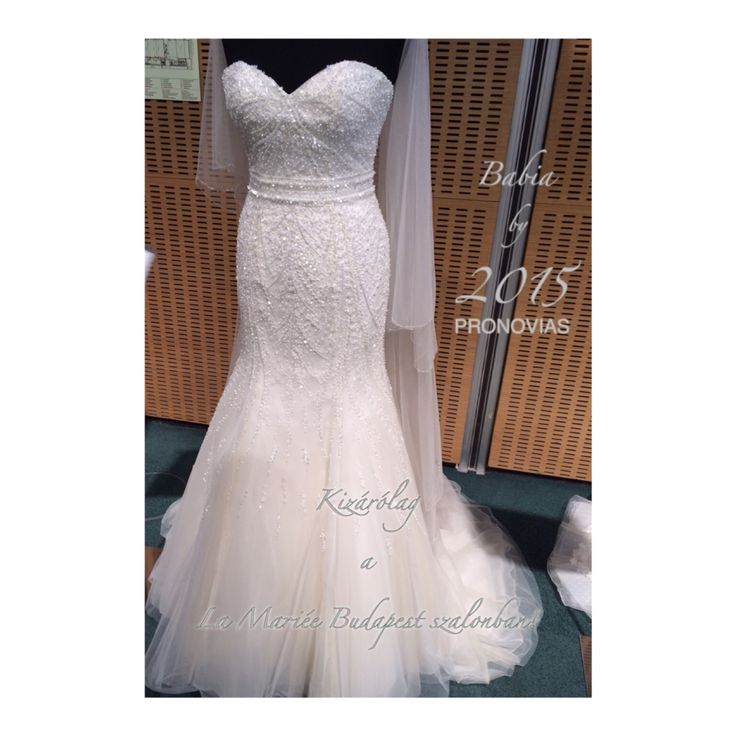 Babia esküvői ruha Pronovias 2015 http://lamariee.hu/eskuvoi-ruha/pronovias-2015/babia