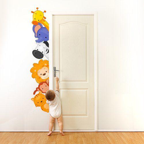Adesivi murali per la cameretta dei bambini arredamento - Stencil cameretta bambini ...